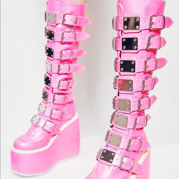 2e398ca86a4 Demonia Shoes - Dolls Kill Demonia Platform Boots